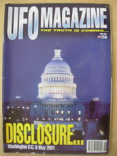 UFO MAGAZINE - THE TRUTH IS COMING - JUNE 2001