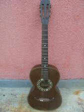 33214 Gitarre Schuster &Co sächs Musikinstrumentenfabrik 1900 Reparaturbedürftig
