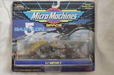 New Micro Machines 1994 Babylon 5 #2 Vorlon Narn Raider Collectible Galoob Nos