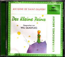 CD - DER KLEINE PRINZ gesprochen von Will Quadflieg 1969 - Deutsche Grammophon