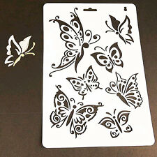 DIY Charm Butterfly Stencil Template Painting Scrapbooking STAMPS Album Crafts F