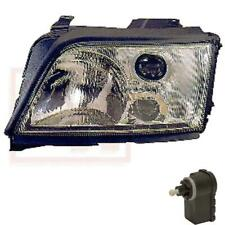 Halogen Headlight Left for Audi A6 Year 09/94-04/97 Incl. Motor