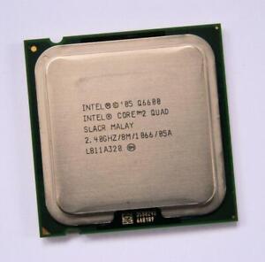 Intel Core 2 Quad Q6600 SLACR Quad-Core 2.4GHz/8M/1066 Socket 775 Processor CPU