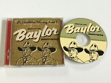 BEST OF THE BAYLOR BROTHERS - WESTERN SWING. CD ALBUM. VGC.