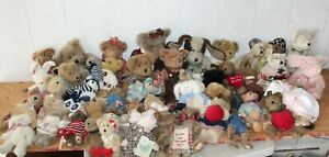 Lot Boyds Boyd's Bears and Friends Investment Thinkin of Ya Minis Best Dressed