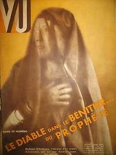 MAGAZINE VU N° 293 FRANCAISE DEVENUE MUSULMANE I TRAHISON TSARINE DE RUSSIE 1933