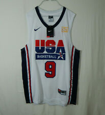 NWT Michael Jordan Chicago Bulls NBA Basketball Jersey 1992 Olympics Nike MEDIUM
