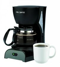 Mr. Coffee DR5 4Cup Coffeemaker, Black, New, Free Shipping
