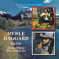 Merle Haggard - Big City / Going Where the Lonely Go [New CD] Rmst