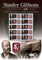 BC-089 2006 Stanley Gibbons 150th Anniversary Business Smilers Sheet