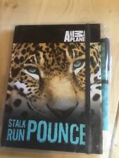 Leopard animal planet notebook stationary paper animal  notebook diary with pen