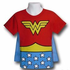 Wonder Woman Bambino Kids Bambino Costume Mantello T-shirt