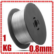 1 Roll Stainless Steel Solid Mig Welding Wire Self-shielded 0.8mm/0.031'' 1kg UK