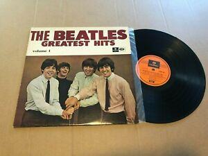 The Beatles Geatest Hits Record lp original vinyl album australia