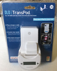 TransPod iPod And iPod Nano For Vehicle Play Charge Cradle All In One- New