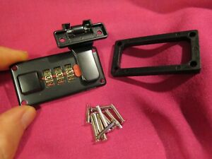 1990-on Gibson TKL BLACK case lock for Les Paul Government Voodoo es 335 SG