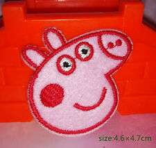 Peppa Pig Iron on Patch embroidered applique kid game gift costume decorate