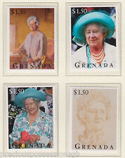 GRENADA QUEEN MOTHER'S 95TH BIRTHDAY STAMP SET MNH 1995 $1.50 EACH STAMP