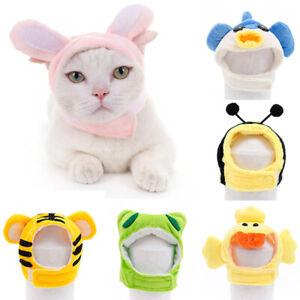 Pet Hat Cartoon Dog Disguise Pet Headwear Cat Headdress Cat Headgear Costume