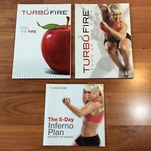TURBO FIRE Training Books: Turn up the Burn - Fuel the Fire - 5-Day Inferno Plan