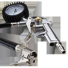 Air Compressor Pressure Gun Gauge Tire Tyre Inflator Auto Car Vehicle Bike Truck