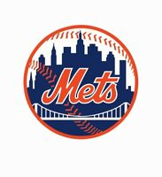 New York NY Mets MLB Baseball Color Logo Sports Decal Sticker-FREE SHIPPING