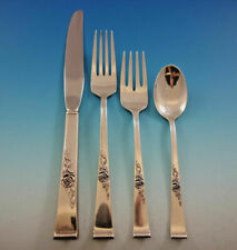 Classic Rose by Reed & Barton Sterling Silver Flatware Place Setting(s) 4pc