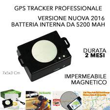 TRACKER GPS GSM LOCALIZZATORE ANTIFURTO CCTR 800 SATELLITARE IPHONE TEMPO REALE