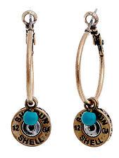 12 Gauge Faux Shotgun Shell Bullet Western Jewelry Earrings
