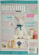 Sewing World Easter Projects Patterns Embroidery April 2016 FREE SHIPPING JB