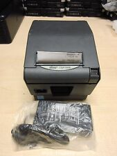 STAR TSP743IID SERIAL RS232 Tsp700ii Thermal Printer Ticket BLACK POS INCL PSU