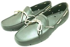 Tucket Men's Boat Shoes Rubber/Slip Resistant Non-marking Size 12 Green