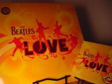 BEATLES LOVE ORIGINAL 1ST EDITION LIMITED RELEASES OF 2 LP SET 180 GRAM + CD/DVD