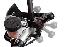 verstellbare Motorrad Halterung Spiegel Garmin Zumo 210 220 340 350 550 660