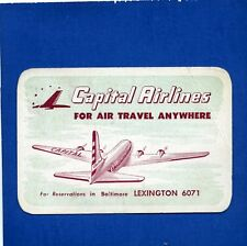 1948 Baltimore Colts Football Schedule signed by Hillenbrand Capital Airlines