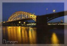 Postcard Waal bridge Nijmegen Netherlands / post card Ansichtkaart Waalbrug #2