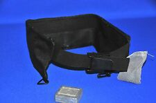BLACK SCUBA DIVING DIVE SNORKEL WEIGHT BELT. MEDIUM 5 POCKET. MADE IN THE USA