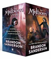 Mistborn: The Mistborn Trilogy Set by Brandon Sanderson (2009, Quantity pack)