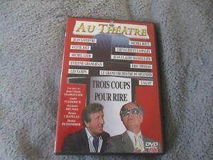 """DVD """"TROIS 3 COUPS POUR RIRE"""" Jean LEFEBVRE Le Grand Orchestre du Splendid Lagaf"""