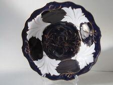 WEIMARER Porzellan Kobaltblau DDR Zierteller/Prunkteller/Schale 32 cm handgemalt