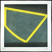 Minimal Art. Grosse Aquatinta-Radierung David TREMLETT (*1945 GB), handsigniert