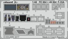 Eduard Zoom FE864 1/48 Lockheed F-35A Lightning II Meng !