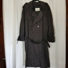 Vintage LONDON FOG 42R Gray Trench Coat - Removable Lining, Belted