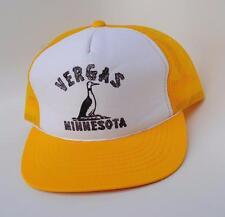 VERGAS MINNESOTA  M/L Adjustable Snapback Mesh-Back Trucker Baseball Cap Hat
