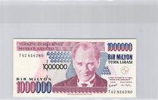 Turquie 1 000 000 Lira L1970 (1995) n° T42816280 Pick 209