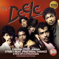 DEELE-STREET BEAT / MATERIAL...-IMPORT 3 CD WITH JAPAN OBI BONUS TRACK J50