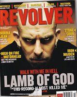 Revolver Magazine Lamb Of God Norma Jean Iron Maiden October 2006 051419nonr