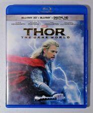 Marvel Thor The Dark World Blu Ray 3D Blu-ray + DVD - NO 2D Blu-ray or DIGITAL