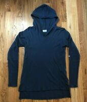 Columbia Sportswear Women's Hoodie Tunic Pullover Heather Blue SMALL S NWOT