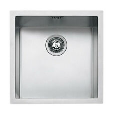 BARAZZA lavello 1 vasca quadra sottotop cm 40x40